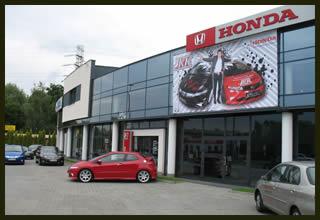 Salon samochodowy HONDA Katowice