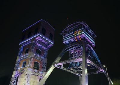 Rewitalizacja Zabytkowych Wież Wyciągowych KWK POLSKA– Świętochłowice